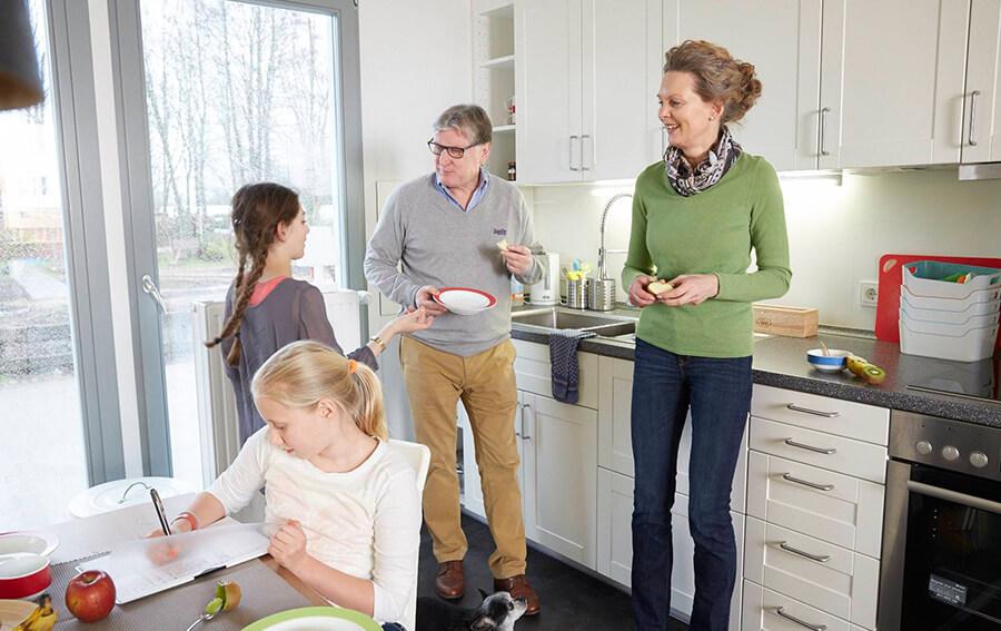 Mehr Raum für Familie, Freizeit und Freunde